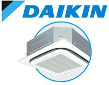 AR CONDICIONADO SPLIT CASSETE INVERTER DAIKIN 31.000 BTU/H FRIO 220V R-410A FCQ30KVL