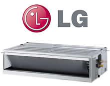 AR CONDICIONADO SPLIT DUTO INVERTER LG 36.000 BTU/H FRIO 220V R-410A AB-Q36GM2A