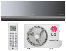 AR CONDICIONADO SPLIT HI WALL INVERTER ART COOL LG 9.000 BTU/H QUENTE/FRIO