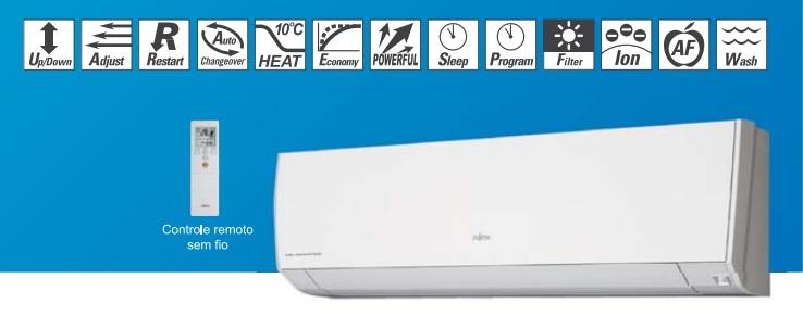 Evaporadora Split Hi Wall Compacto Fujitsu