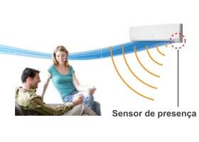 Sensor de Presenca Fujitsu